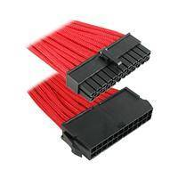 BitFenix 24-pin ATX Extension cable - 30cm - Red