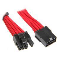 BitFenix 8-pin PCIe Extension cable - 45cm - Red