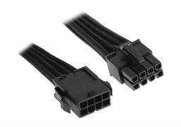 BitFenix 8-pin EPS12V Extension cable - 45cm - Black