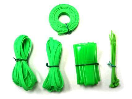 Vantec Cable Sleeving Kit - UV Green