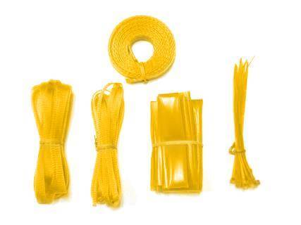 Vantec Cable Sleeving Kit - UV Yellow